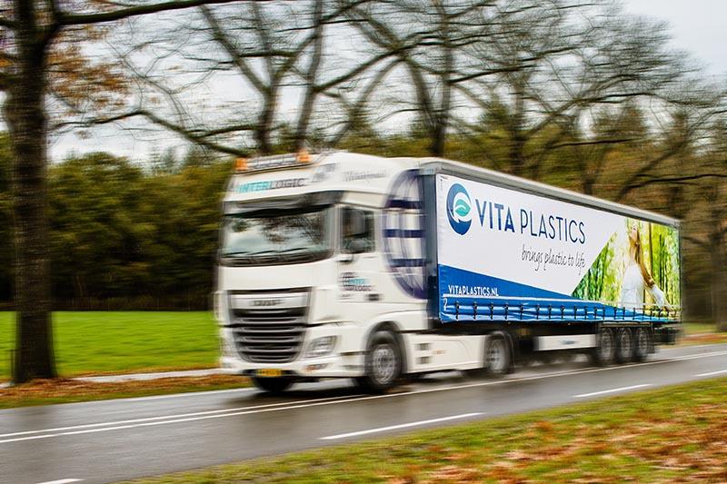 vrachtwagen Vita Plastics